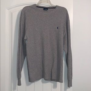 Men's Polo long sleeve thermal